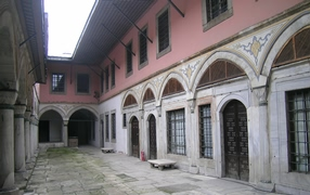 Стамбул (Istanbul) - Topkapi Courtyard of the Sultan's Consorts and the Concubines  в гареме